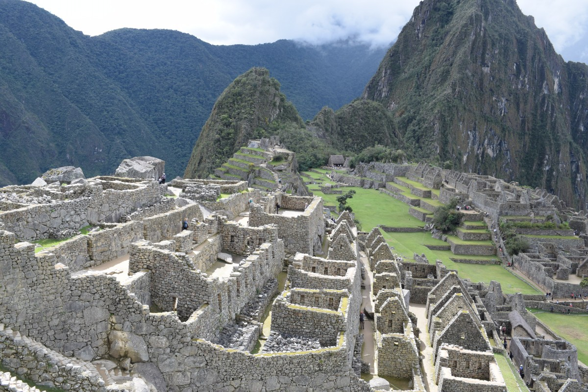 Machu Picchu ancient ruins