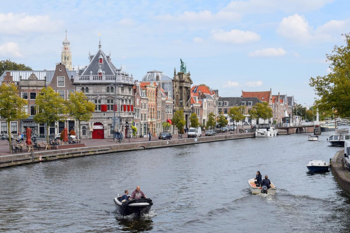 Haarlem boat tour the Netherlands