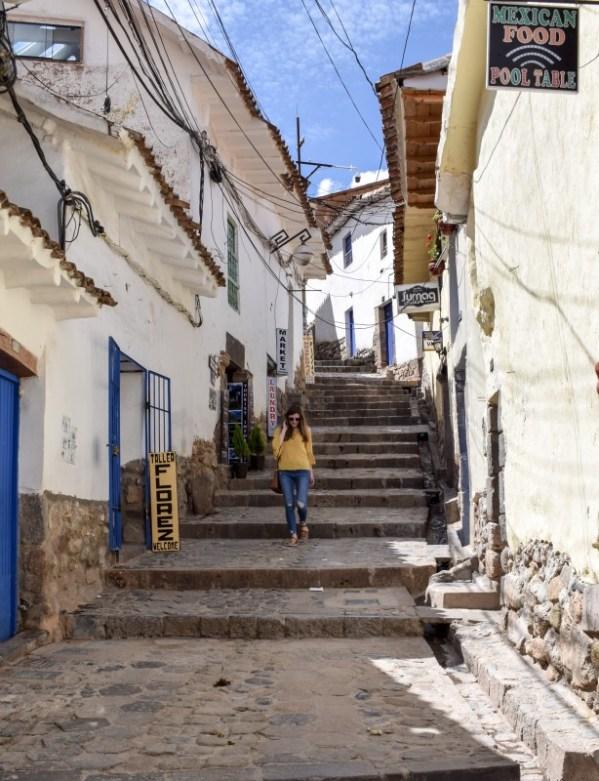 San Blas Cusco Peru