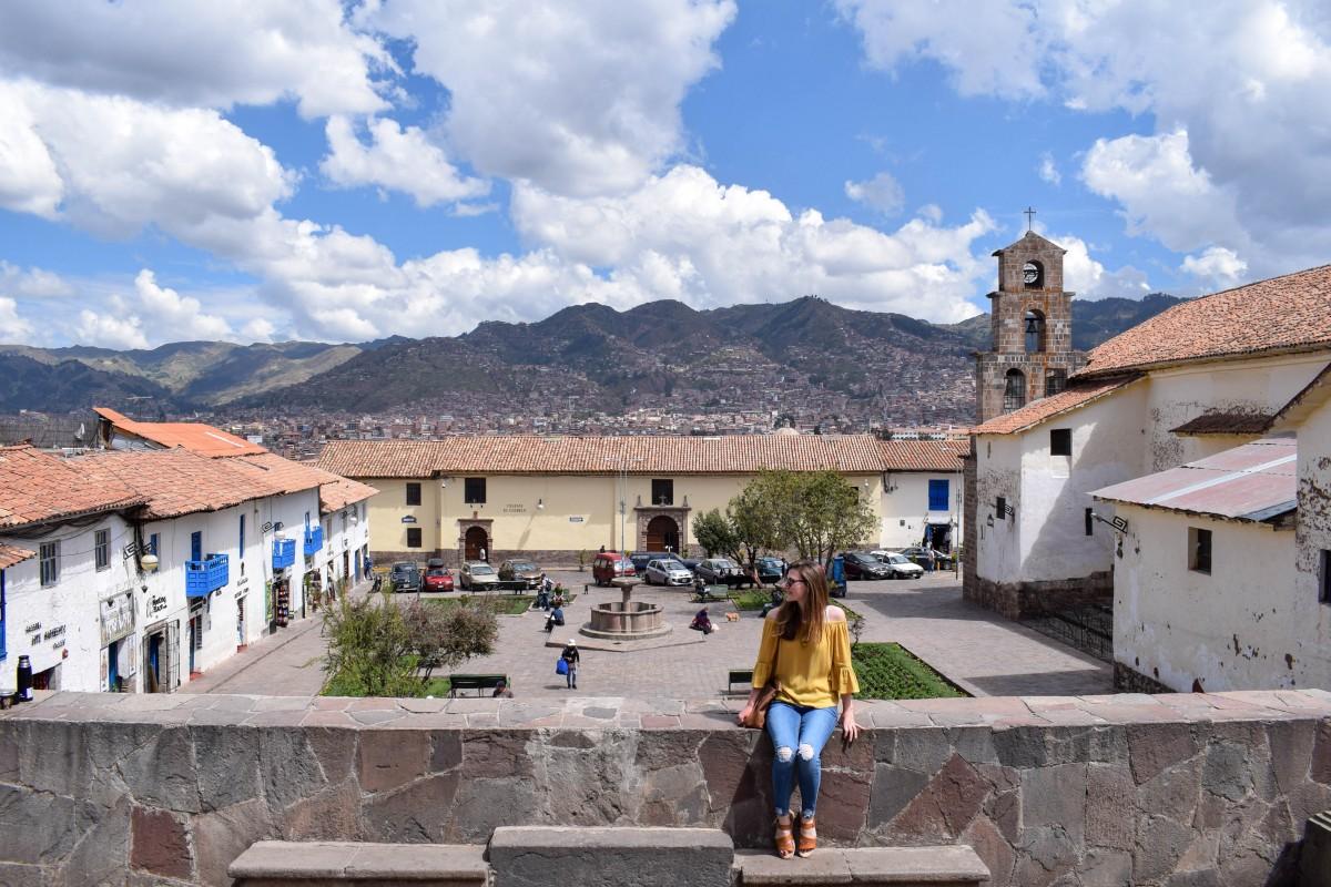 San Blas plaza Cusco Peru