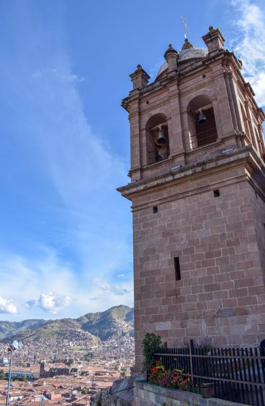 San Cristobel church Cusco Peru