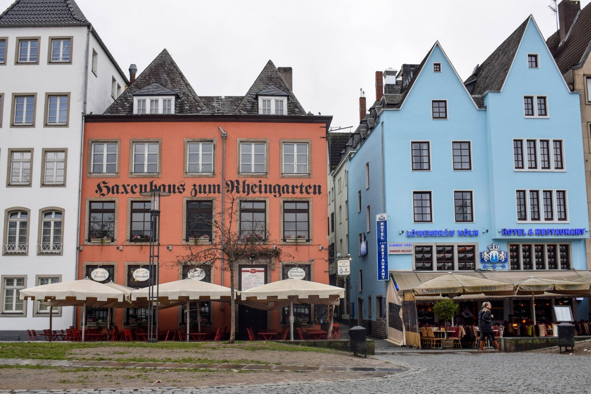 Cologne walking tour Old Town