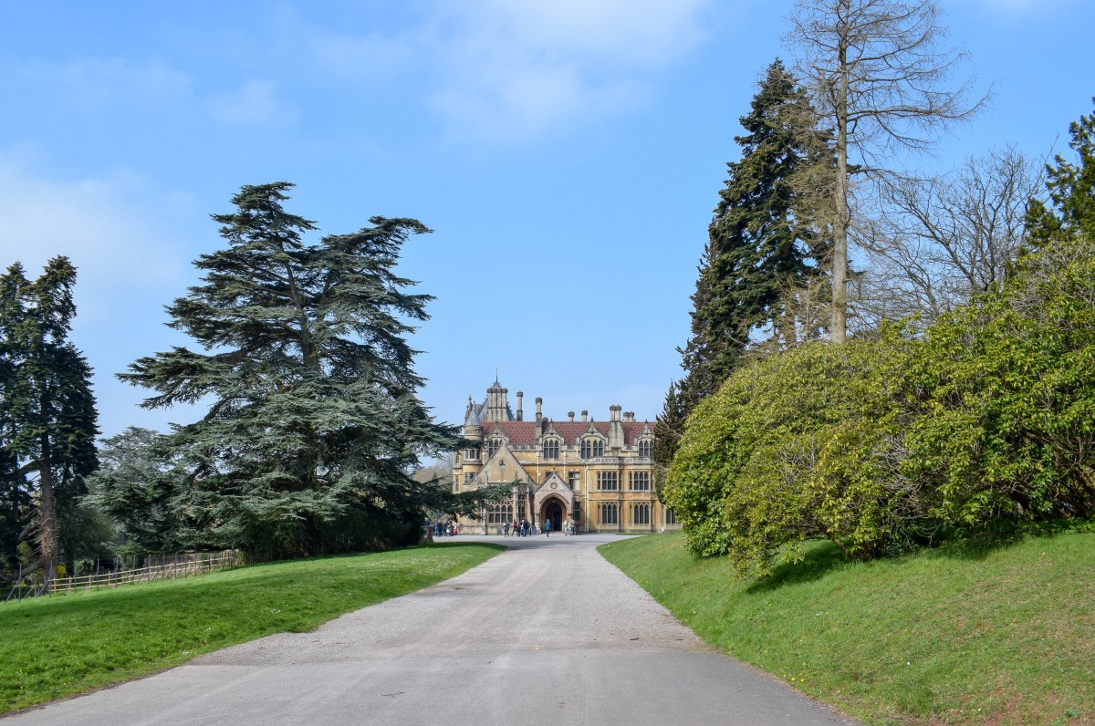 View of Tyntesfield house in Bristol