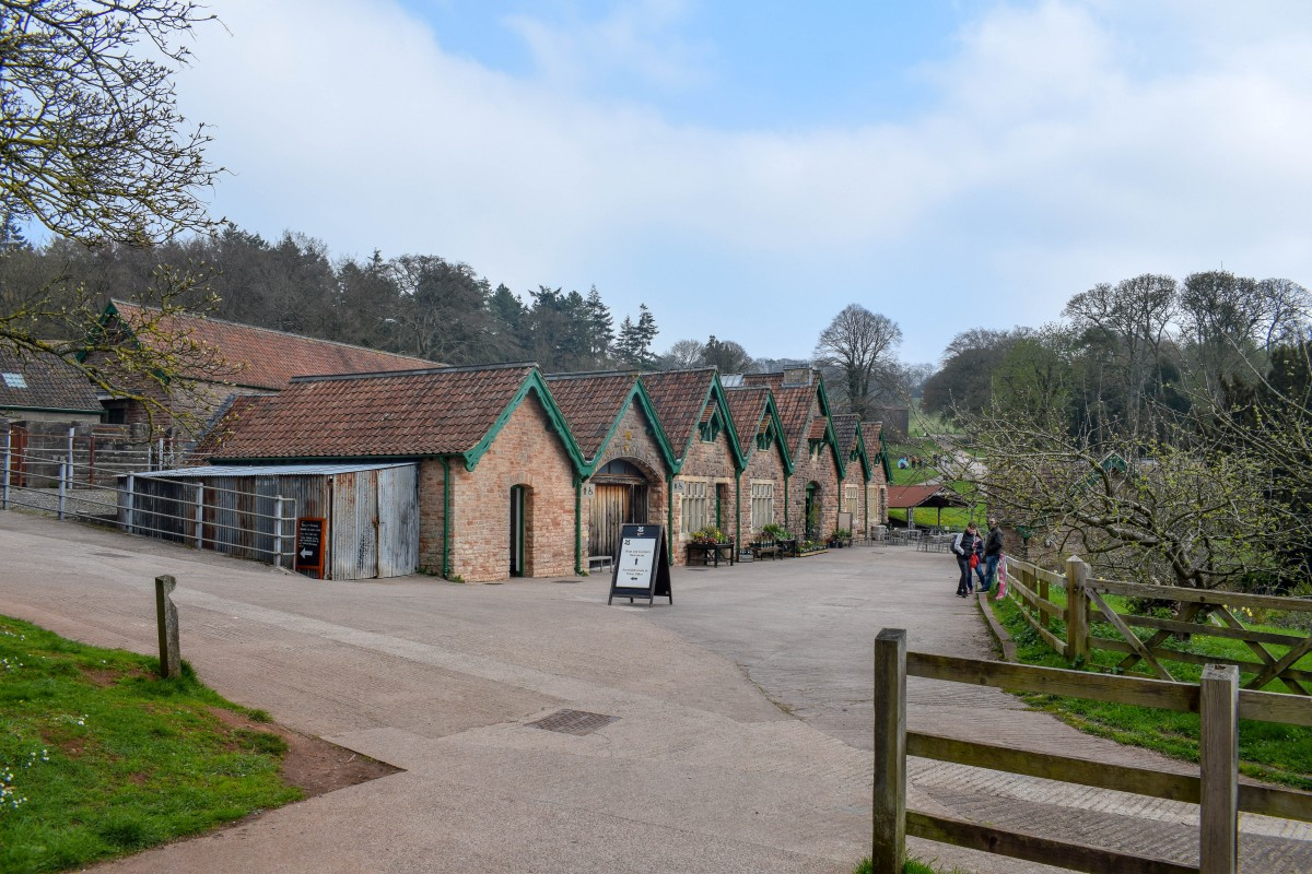 Entrance to Tyntesfield National Trust site in Bristol