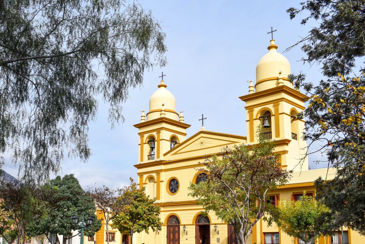 Cafayate Cathedral Argentina