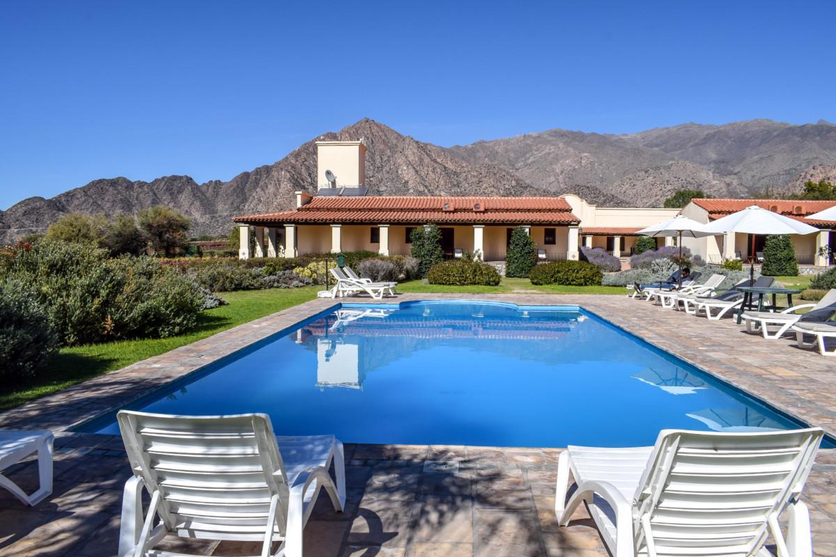 Pool at the Vinas de Cafayate resort in Argentina