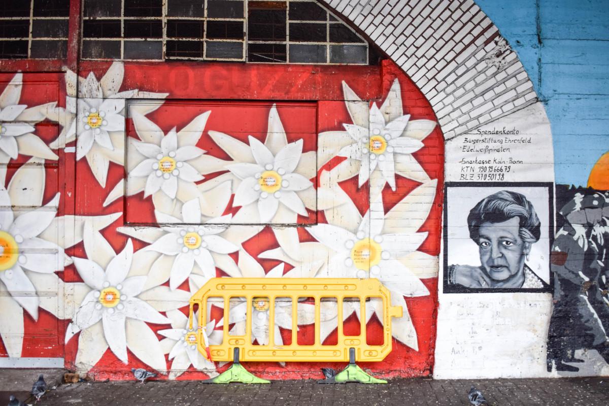 Ehrenfeld street art Eidelweispiraten cologne
