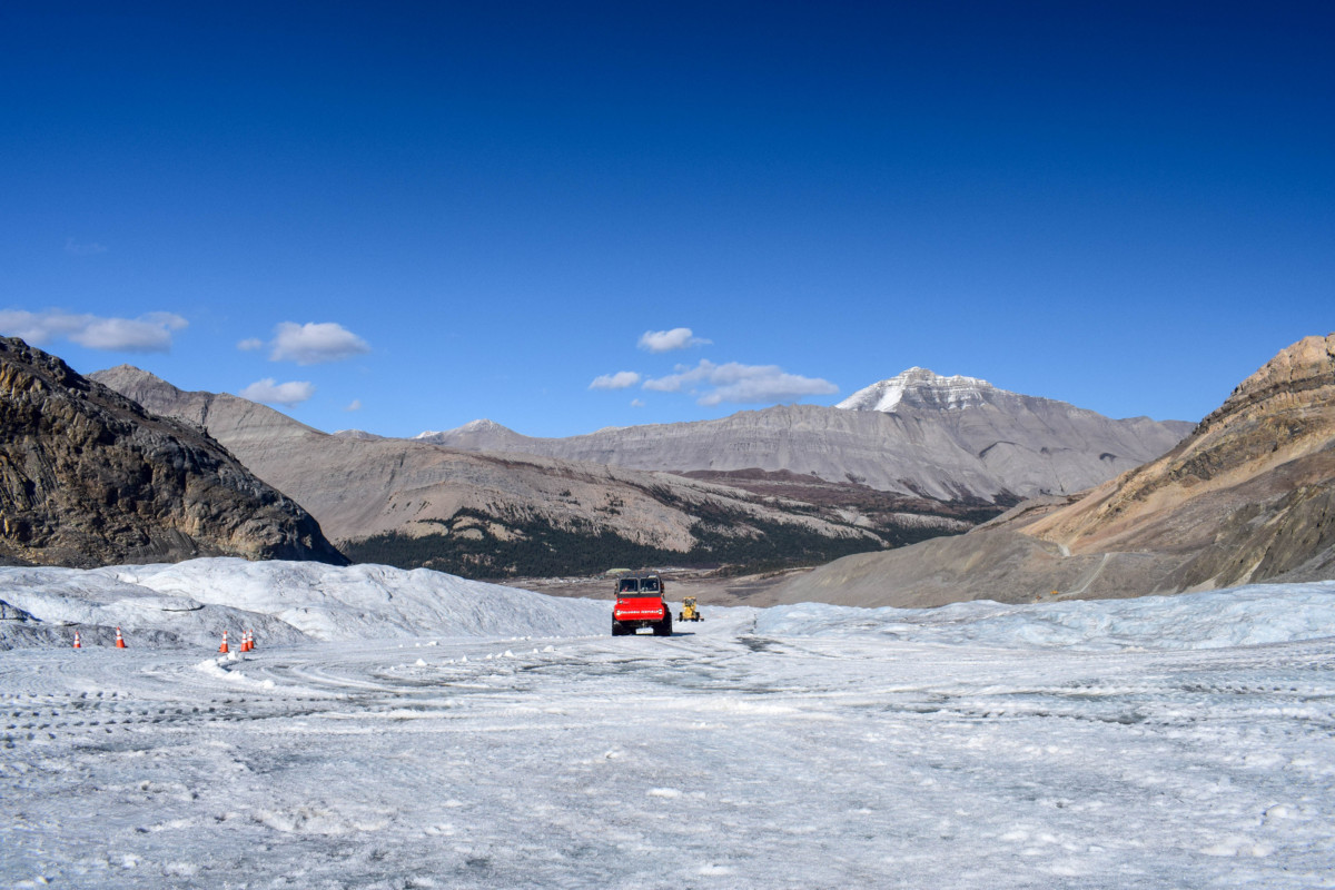 Columbia Icefield Brewster Icefields Parkway Canada