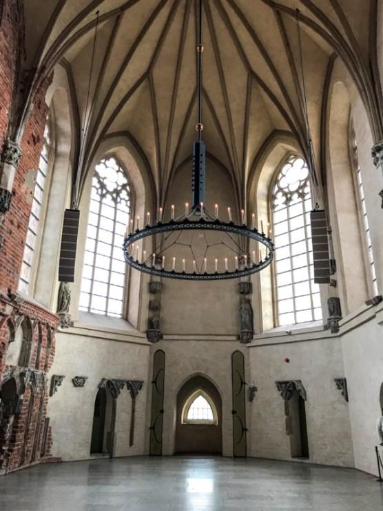 Malbork Castle chapel Gdansk