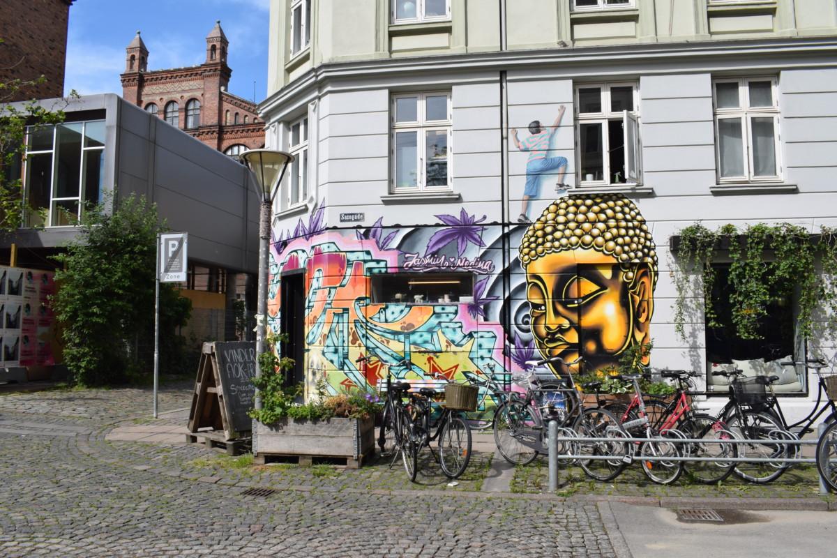 Vesterbro street art Copenhagen