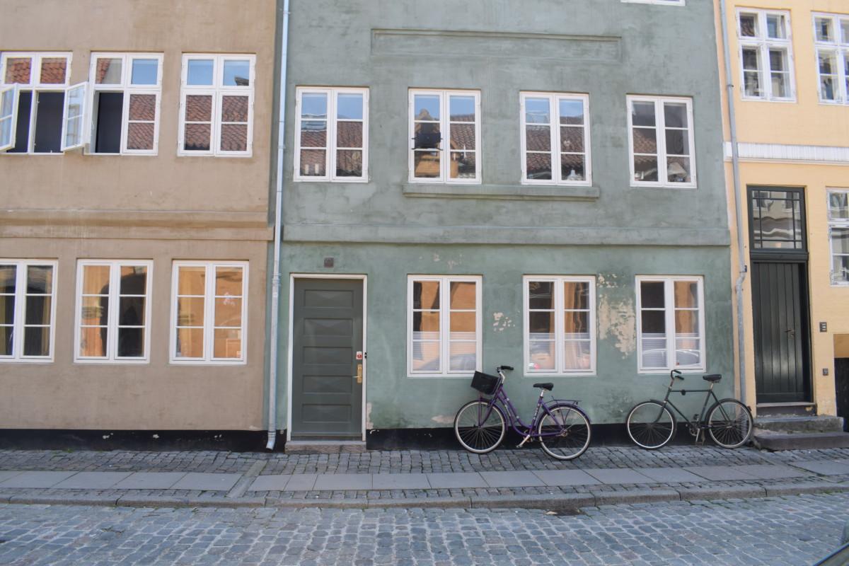 Copenhagen coloured houses Denmark