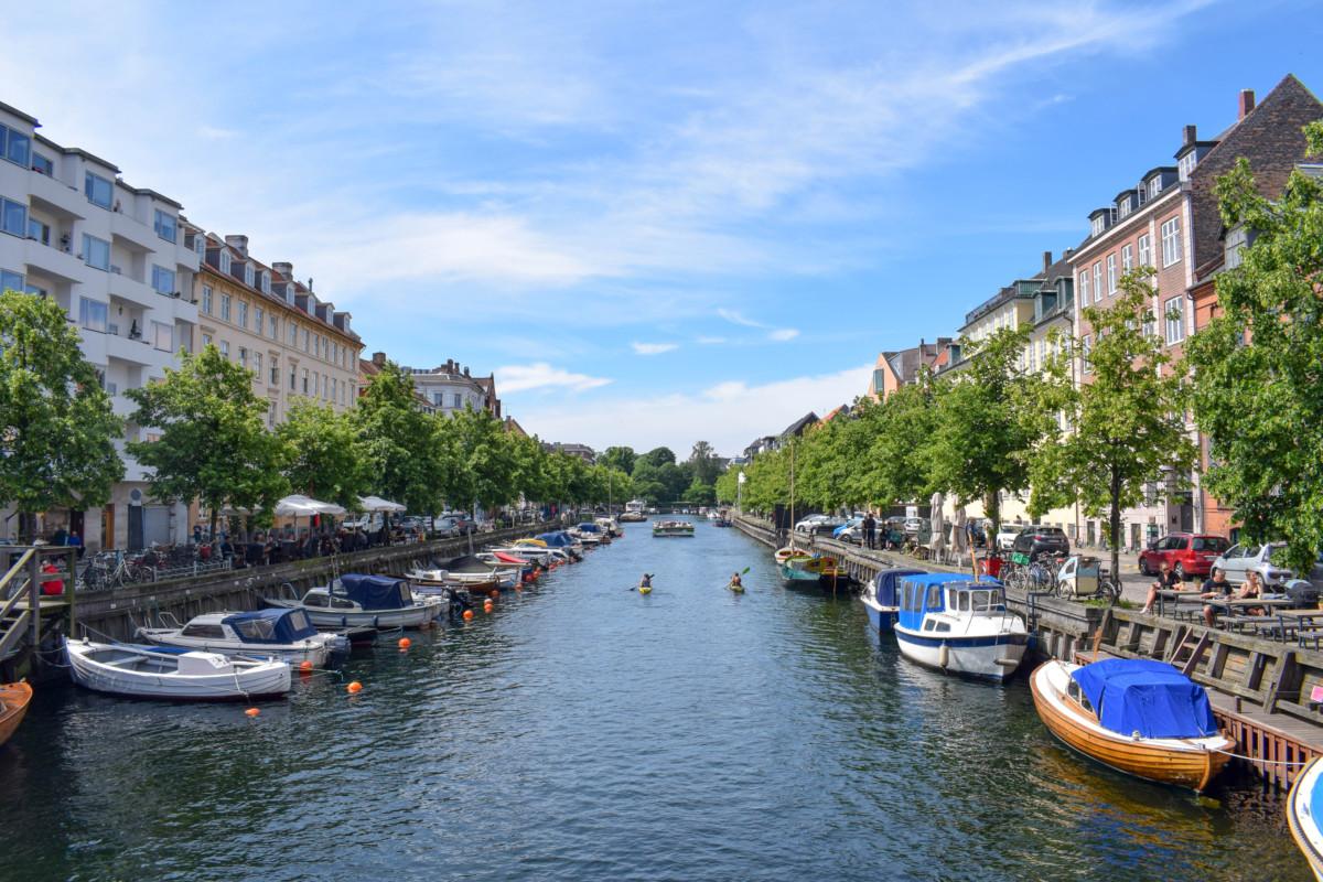 Christianshavns canals Copenhagen on a budget