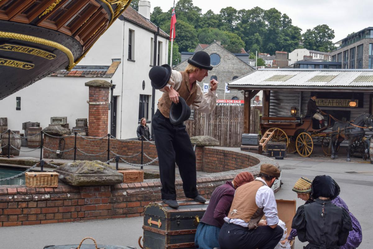 SS Great Britain Bristol Invisible Circus
