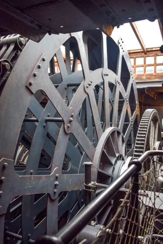 SS Great Britain engine room