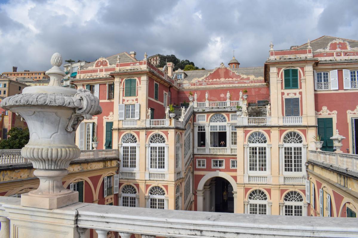 Genoa Italy Palazzo Reale