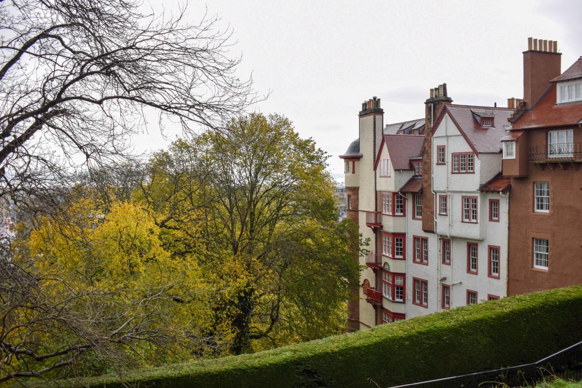 Edinburgh Castle views