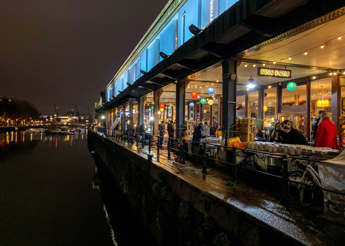 Bristol harbourside christmas market