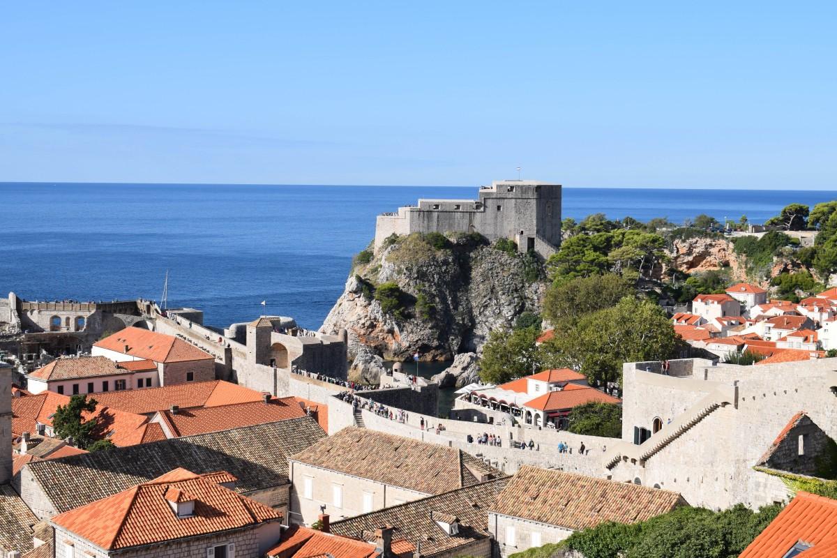 Walls of Dubrovnik Croatia-How to travel more