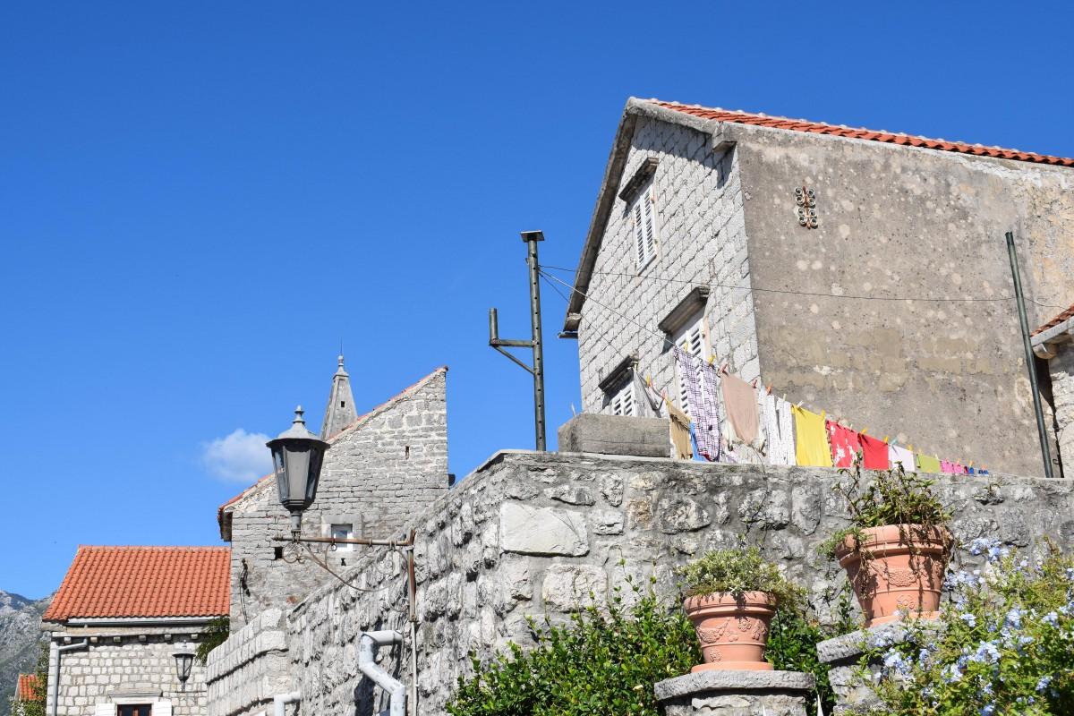 Perast old town Montenegro