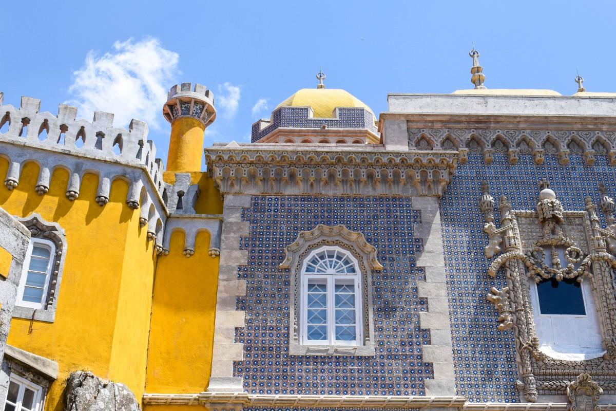 Pena Palace Sintra Lisbon Portugal