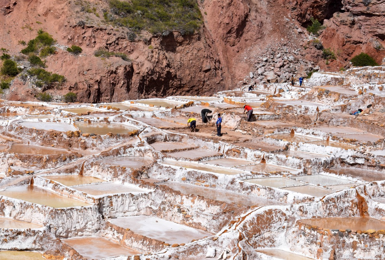 Salineras de Maras Sacred Valley Peru