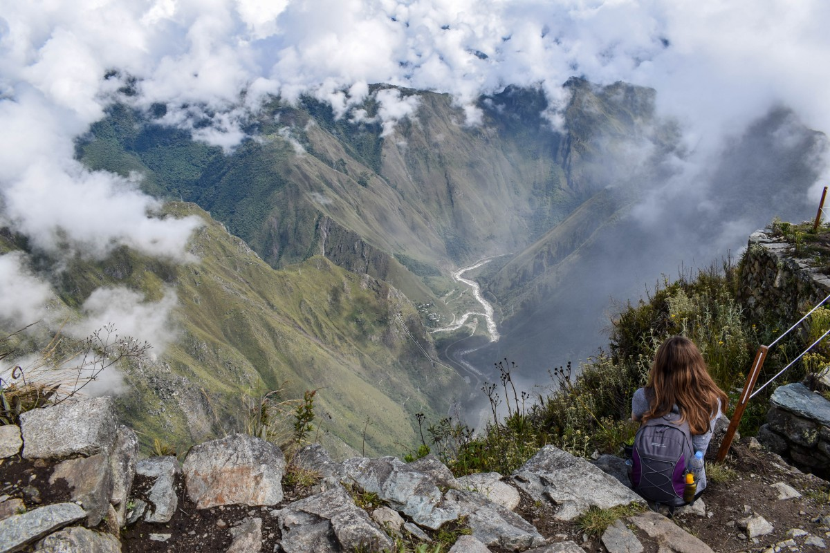 Views from Machu Picchu Mountain Peru