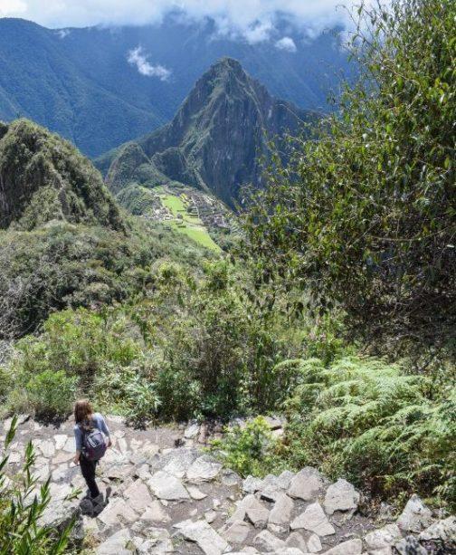 Hiking Machu Picchu Mountain