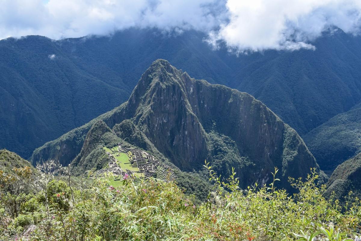 Hiking Machu Picchu Mountain Peru