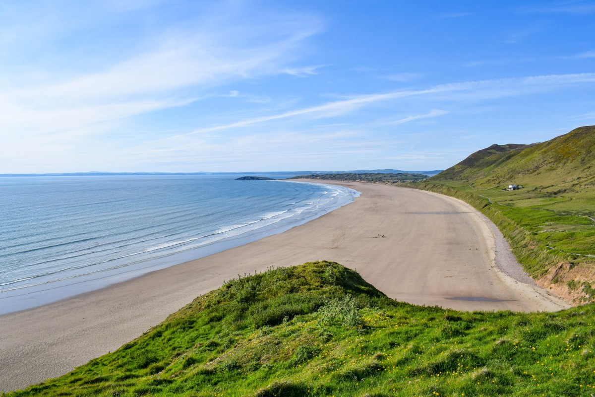 The best beaches on the Gower Peninsula