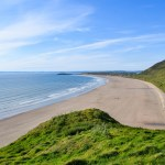 Rhossili Bay Gower best beaches South Wales
