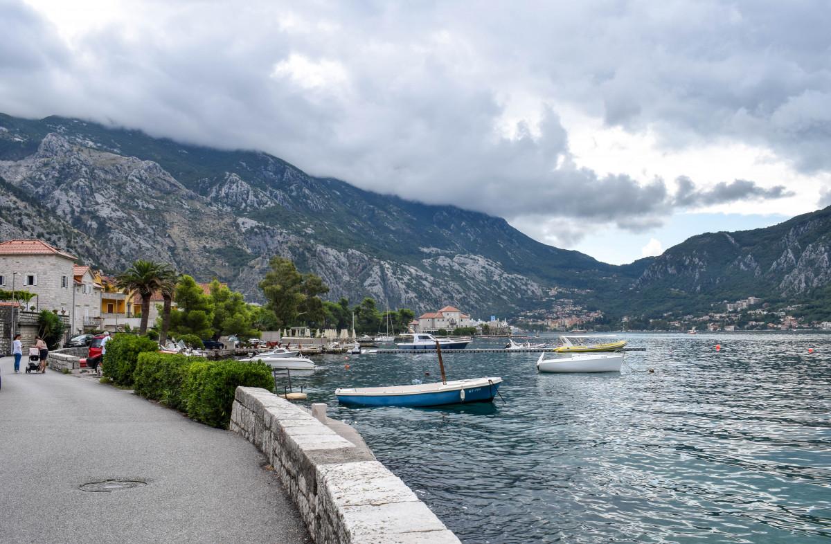 Dobrota to Kotor Montenegro where to stay in Kotor