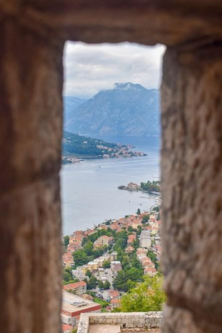 Kotor Fortress hike Montenegro