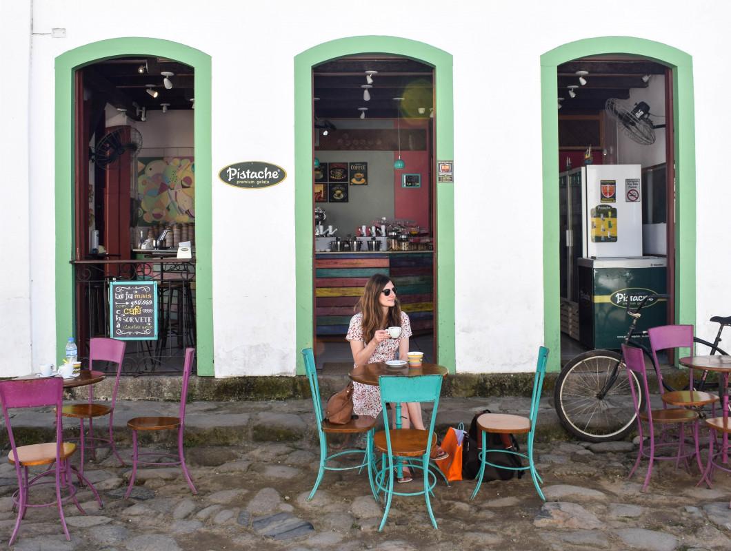 Paraty Pistache ice cream brazil