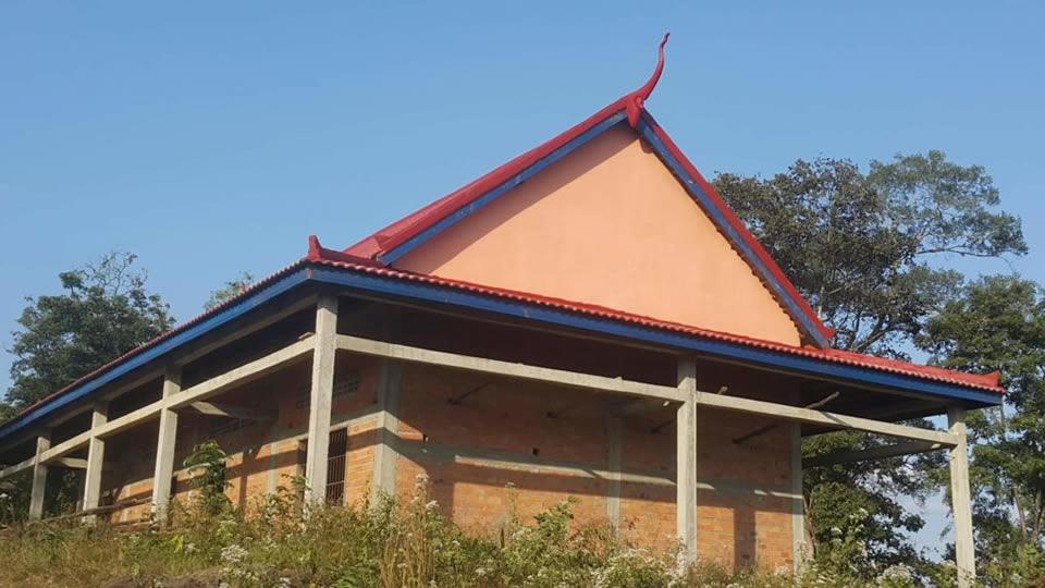 Premier succès : le toit !