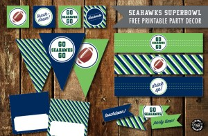 Seattle Seahawks Birthday Party Ideas