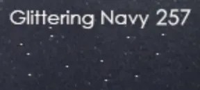 Blu Navy Glitter