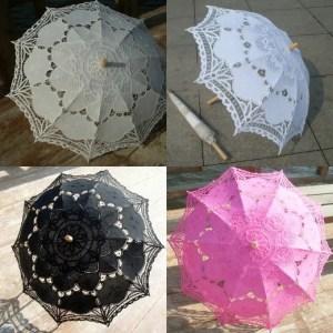 Ombrelli in pizzo I disegno