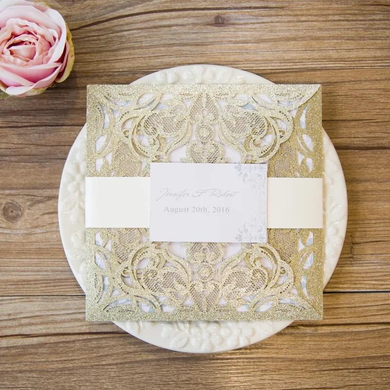 e17e5093ab5e Partecipazioni Matrimonio Laser Glitter. Catalogo