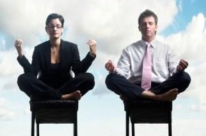 meditation au bureau