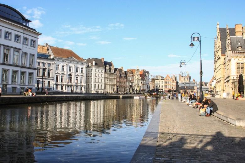 Graslei, Gand - Belgio