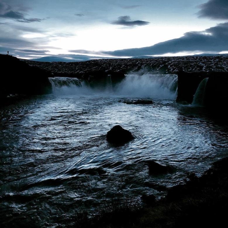 Cascata degli dei, Godafoss, Islanda