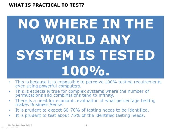 How much to Test – Slide 4