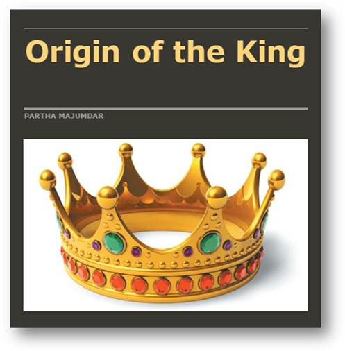 "Book Cover - ""Origin of the King"""
