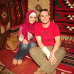 Mugeeth With His Wife