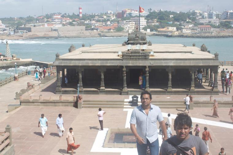 Other structures on Vivekananda Rock