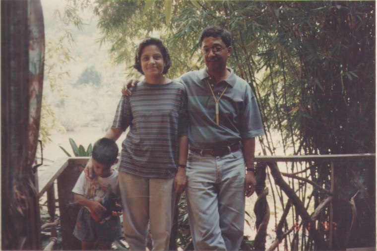 Meghnad and family