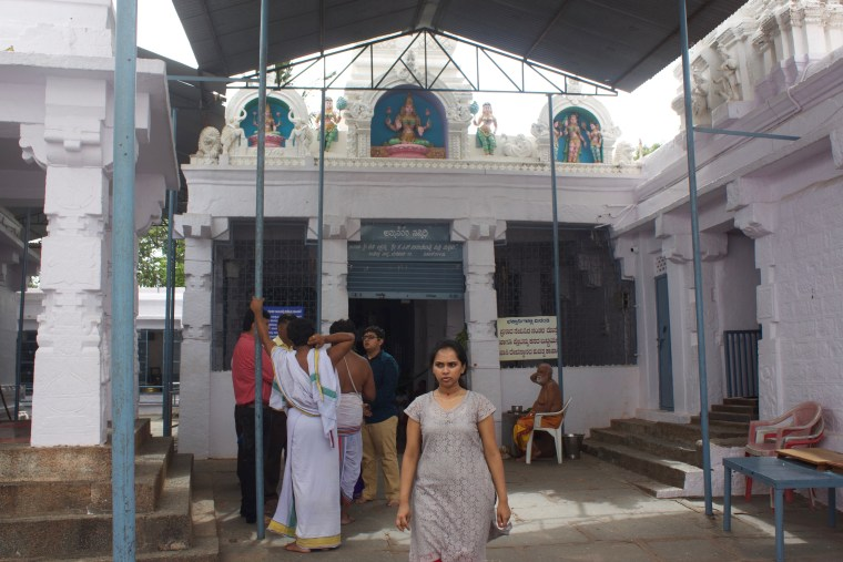 The Lakhsmi Temple in the premises