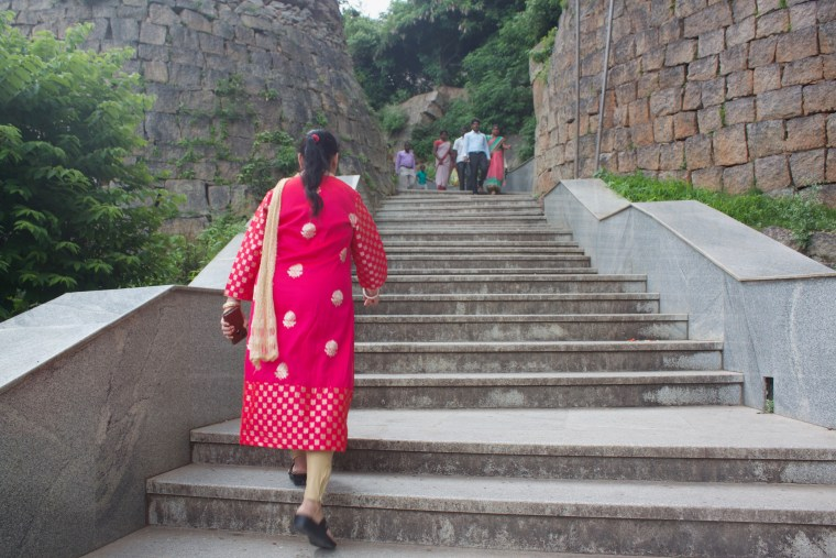 Stairs in the Temple Premises