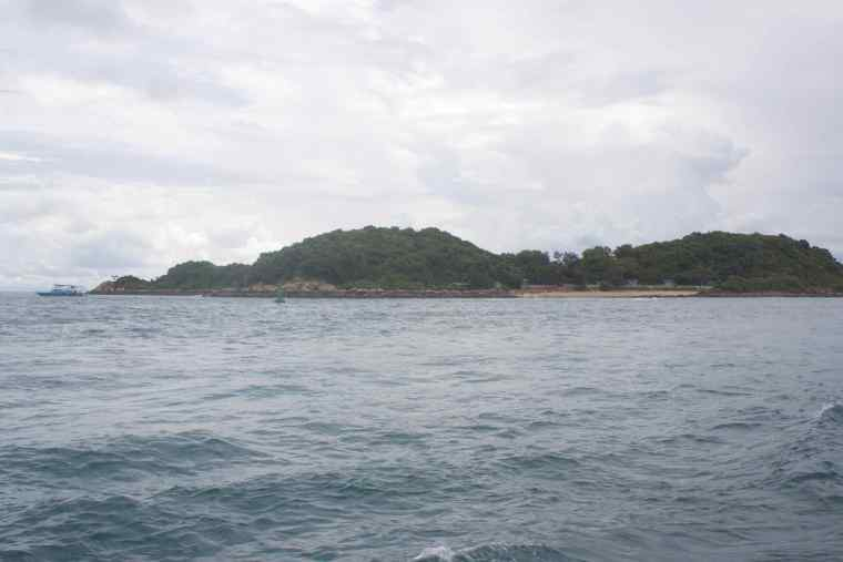A small Island on the way to Coral Island