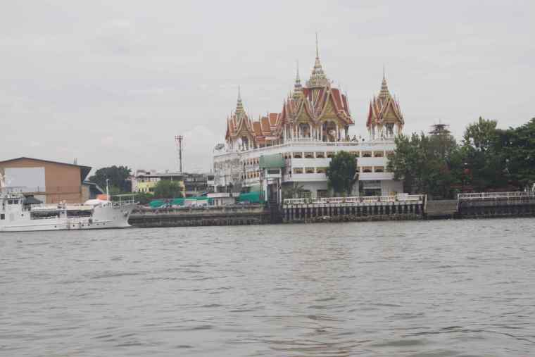 A beautiful building on banks of Chao Phraya River